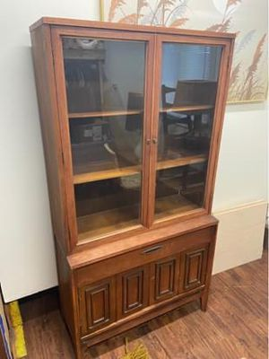 Midcentury China cabinet for Sale in Lincoln, NE