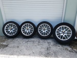 """Ford Mustang GT OEM """"18 Alloy Wheels for Sale in Fort Lauderdale, FL"""