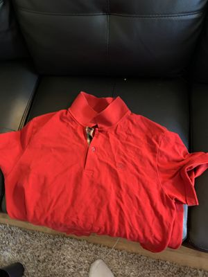 Burberry Polo size XXL for Sale in Tacoma, WA