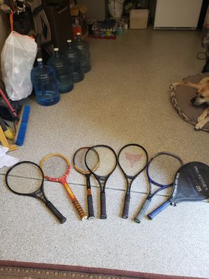 Tennis rackets for Sale in Wildomar, CA
