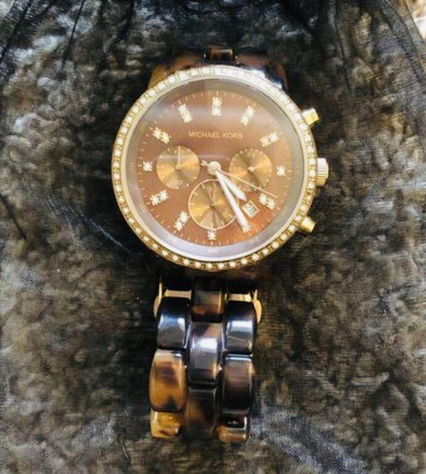 Michael Kors Tortoiseshell Womens Watch