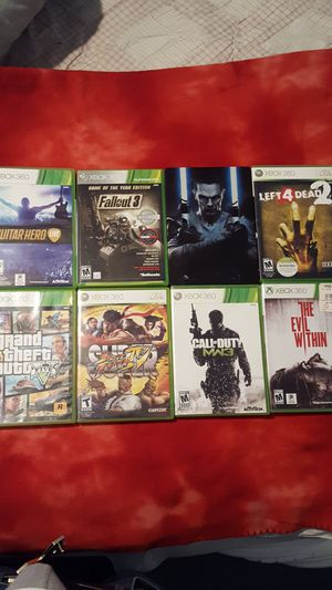 Xbox 360 games for Sale in Takoma Park, MD