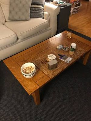 Wooden coffee table for Sale in Denver, CO