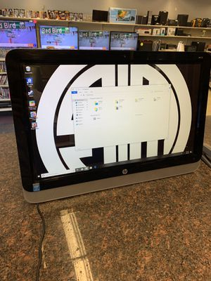 HP all on one touch screen for Sale in Austin, TX