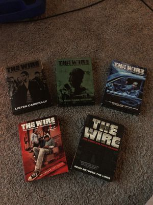 The Wire Complete Series 1-5 for Sale in Colorado Springs, CO