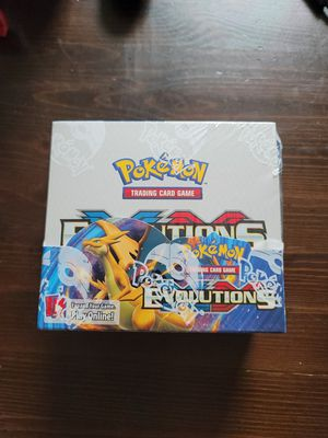 *New Sealed* Pokemon xy evolutions booster box - 36 Booster Packs for Sale in Philadelphia, PA