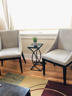 West Elm Curved Chairs Excellent Condition for Sale in Vancouver, WA