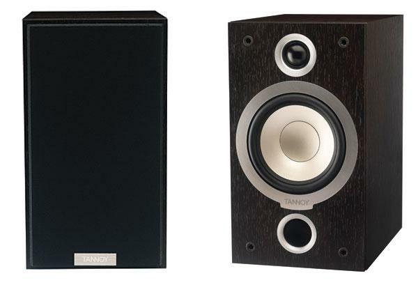 New! TANNOY MERCURY V1 Premium speakers in Dark Walnut (Pair)--BRAND NEW in Box