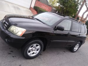 2002 Toyota Highlander 4 cyl for Sale in Los Angeles, CA