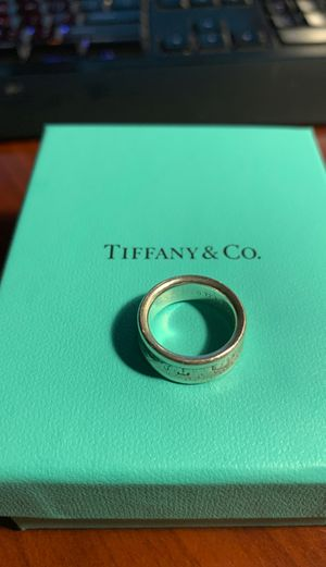 Tiffany Sterling Silver 1837 Collection Size 5 for Sale in Henderson, NV