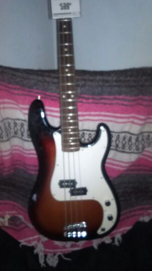 Fender standard precision for Sale in Modesto, CA