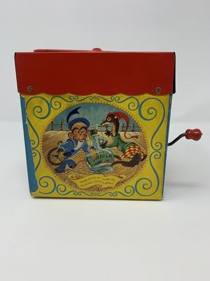 Vintage 1950s Tin Toys Mattel Jack in the Box for Sale in El Monte, CA