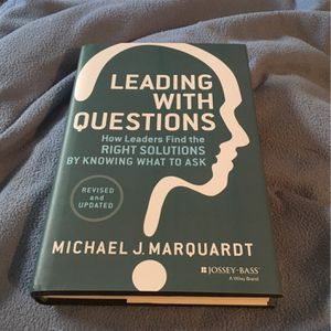 LEADING WITH QUESTIONS - BOOK for Sale in Dunwoody, GA
