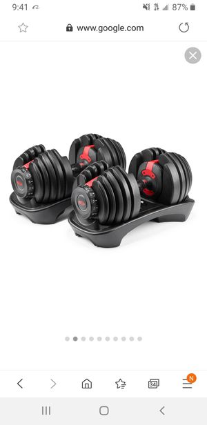 Dumbbells bowflex for Sale in Quincy, MA