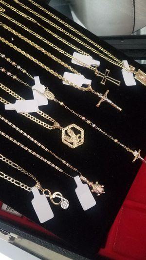 OFERTAS ESPECIALES ORO DE 14K 100% GARANTIZADO PREGUNTE POR CUAL LE GUSTE HAGO ENTREGAS EN AREAS SERCANAS (14K REAL GOLD) for Sale in Manassas Park, VA