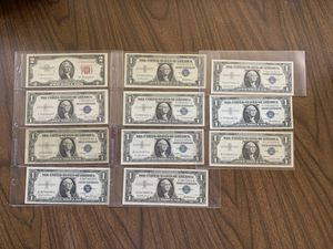 Collectibles currency for Sale in Houston, PA