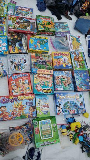 Puzzles, Games & Gameboards $1-$10 for Sale in Los Nietos, CA