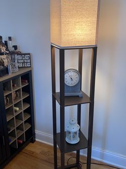 Shelf Floor Lamp - Free Delivery for Sale in The Bronx,  NY