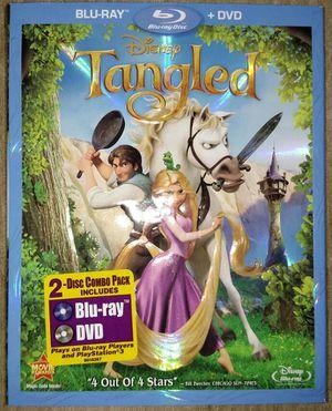 Tangled (Blu-ray + DVD) for Sale in Corona, CA