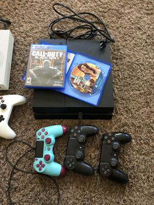 Xbox 1 s and PlayStation 4 for Sale in Oskaloosa, IA