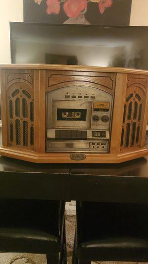 Record player w/ cassette player & Radio for Sale in Virginia Beach, VA