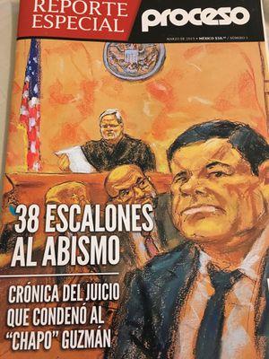 Crónica del Juicio del Chapo. Reporte Especial Revista PROCESO for Sale in Chicago, IL