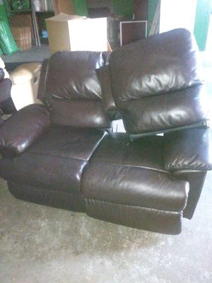 Couch and sectional for Sale in Plant City, FL