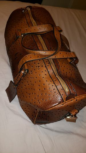 Alligator duffle bag (TEXAS) for Sale in Humble, TX