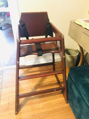 SOLID WOOD BABY HIGH FEEDING CHAIR BOOSTER CAR SEAT STROLLER for Sale in Philadelphia, PA