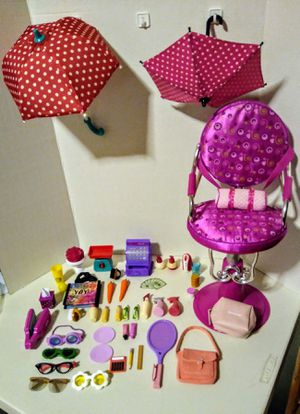 "Accesories for any 18"" inch dolls, like Og, american girl, Journey girl,etz... for Sale in Ontario, CA"