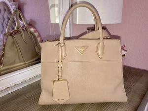 Prada Saffiano Greca Paradigm Tote Bag for Sale in La Mesa, CA