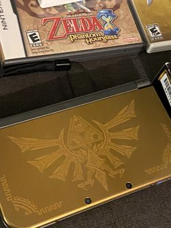 Zelda Hyrule Nintendo Limited Edition New 3DS XL Bundle for Sale in Seattle,  WA