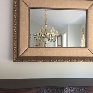 LARGE DECORATIVE MIRROR for Sale in Melville, NY