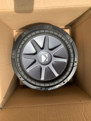 "12"" kicker subwoofer for Sale in Everett, WA"