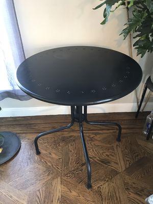Mini fridge 55inch mirror black circle table futon bed couch for Sale in San Francisco, CA