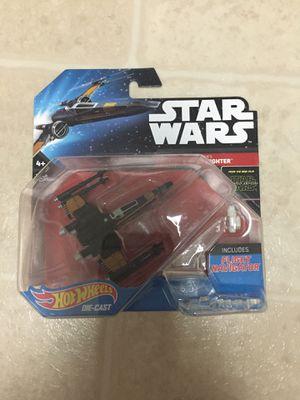 2016 Hot Wheels Star Wars Poe's X-Wing Fighter for Sale in Hayward, CA