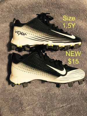 New Mike Trout Nike Baseball cleats size 1.5Youth for Sale in Whittier, CA