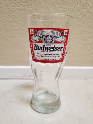 Budweiser Glassware/Drinking Glass/Collectible/Gifts for Sale in Fountain Valley, CA