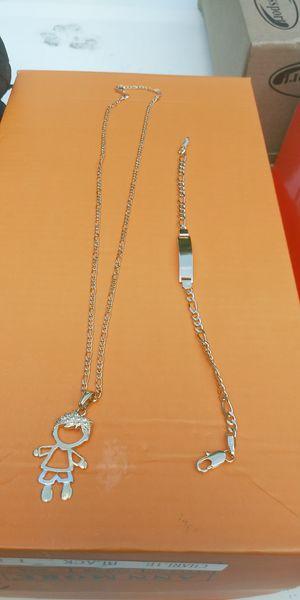 🚚💨I deliver🚀I Ship...😍😍14kt 💎Gold filled 💦 3mm Necklace charm and bracelet 🌟🌟🌟🌟🌟 for Sale in Hollywood, FL