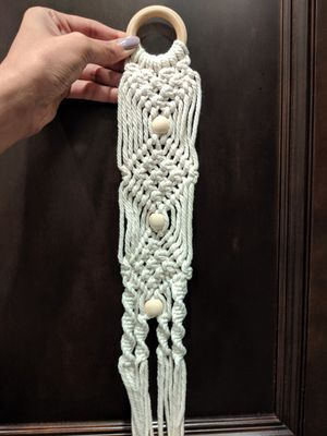 New handmade Macrame plant hanger, wall decor, boho decor for Sale in Houston, TX