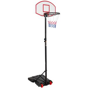 "Portable Kids Junior Height-Adjustable 28"" Basketball Hoop Stand Backboard System W/ Wheels kids outdoor for Sale in Los Angeles, CA"
