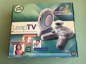 NIB LEAP FROG TV EDUCATION VIDEO GAMING SYSTEM, KIDS, LEARNING, AGE 3-8 for Sale in Yucaipa, CA