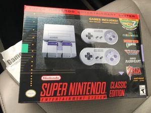 Super Nintendo classic edition for Sale in Denver, CO