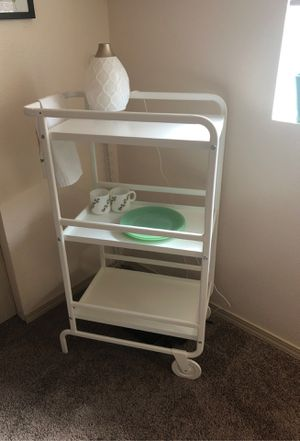 Sunnersta White Bar Cart - New for Sale in Keizer, OR