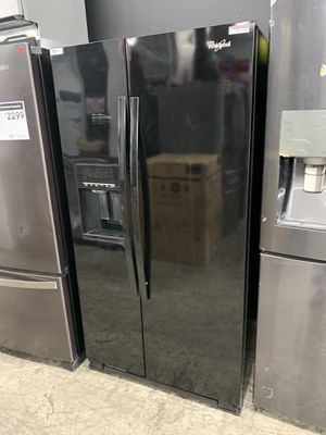 Whirlpool side by side in glossy black used for Sale in Chino Hills, CA