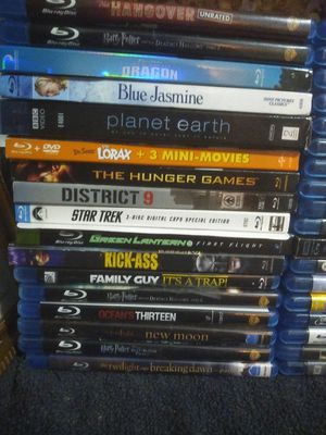 60 blue ray movies for Sale in Jersey City, NJ