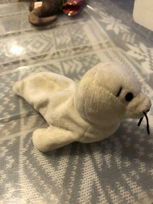 """TY Beanie Babies. """"Seamore"""" the White Seal for Sale in Columbus, OH"""