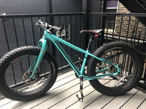 "Cannondale FAT CAAD 4.5"" Tire mountain bike XS frame for Sale in Chicago, IL"