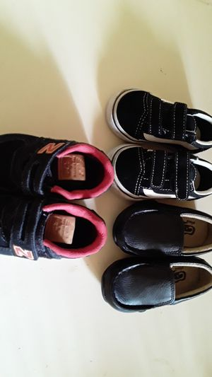New balance vans and place shoes size 4 toddler for Sale in Denver, CO