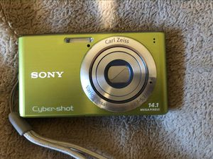 Sony Cyber-Shot DSC-W530 Digital Camera W/Case, Charger & 1G SD Card for Sale in Edmonds, WA